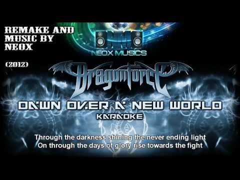 NEOX - Dawn Over a New World (karaoke cover with lyrics) (HD)