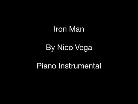 Iron Man (by Nico Vega) - Piano Instrumental