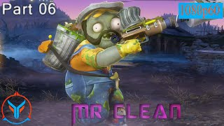 Plants Vs Zombies Garden Warfare Mr Clean - Sanitation Expert - Gameplay Part 6