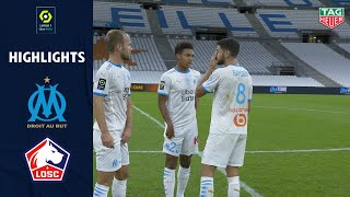 OLYMPIQUE DE MARSEILLE - LOSC LILLE (1 - 1 ) - Highlights - (OM - LOSC) / 2020/2021