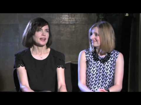 Downton Abbey : Elizabeth McGovern and Laura Carmichael on Downton's success
