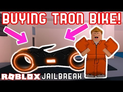 BUYING THE TRON BIKE! - Roblox Update Livestream