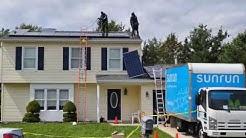 Full Timelapse Solar Panel Installation (Wayne, NJ 7/29/2016)
