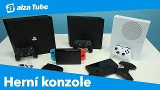 Jak vybrat herní konzoli - PS4, Xbox One, Nvidia Shield, Nintendo Switch | Alza Tube