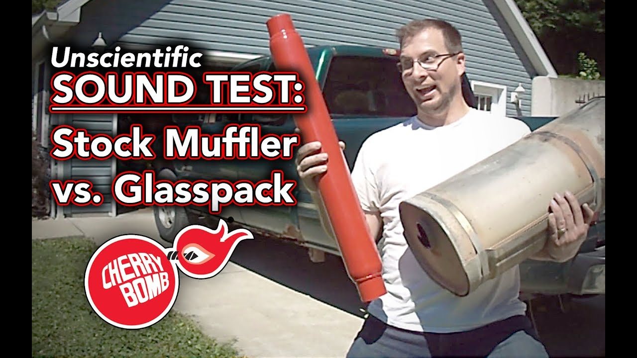 Cherry Bomb 87521CB Glasspack Muffler