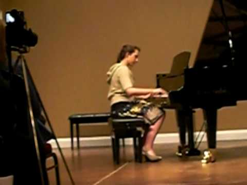 Darby Piano Recital 2009
