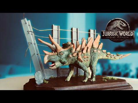 The Jurassic World Dinosaur Hybrid Challenge & Diorama Base!