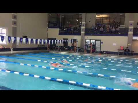 Liam A - 100 Free - Illinois College Dual Meet