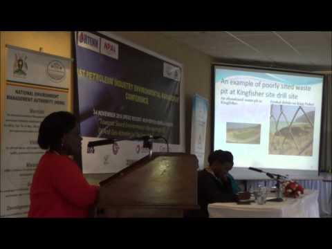 Munyonyo Conference Teddy Tindamanyire Ministry of Water