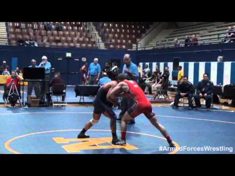 59 kg - Ryan Schmehr (Navy) vs. Randy Duncan (Air Force)