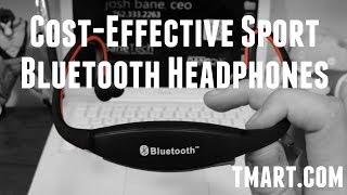Cost-effective MP3 Player Stereo Sports Bluetooth Headset Headphone