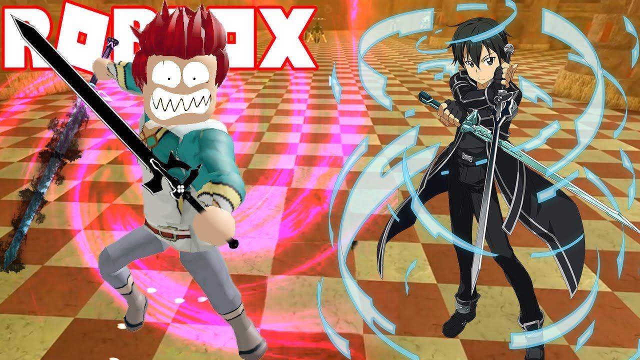Roblox - Bước Vào Tầng 5 Có Giết Được Boss Ngầu Như Kirito Sword Art Online Không | Swordburst 2 ...