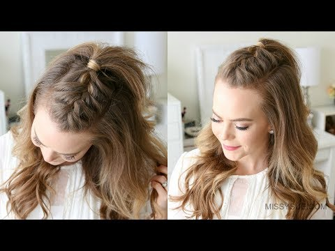 French Mohawk Braid Tutorial