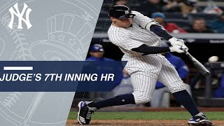 Judge hits 5th HR of 2018, 61st of his career