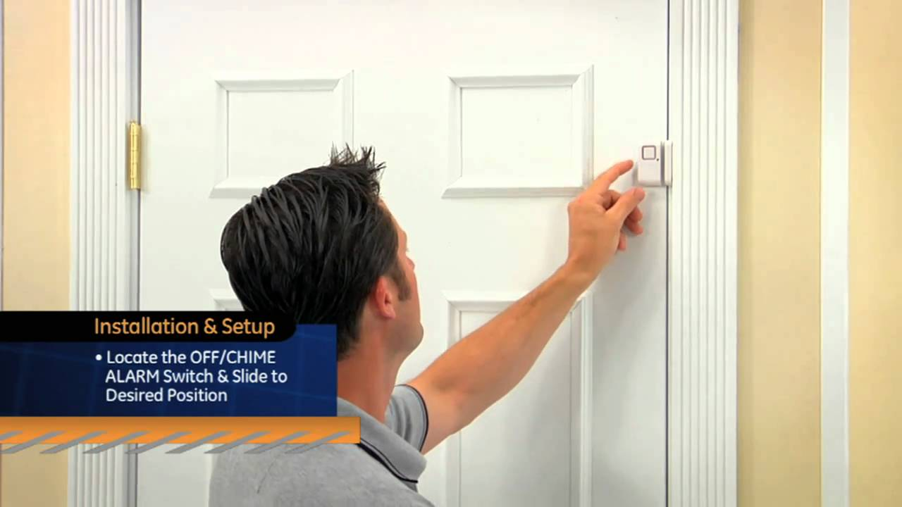 GE Personal Security - Window / Door Alarm - YouTube