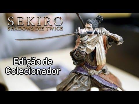 SEKIRO SHADOWS DIE TWICE - Unboxing da Edição de Colecionador e de Itens Especiais!