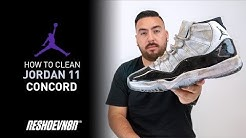 How to Clean Jordan 11 Concord With Reshoevn8r!