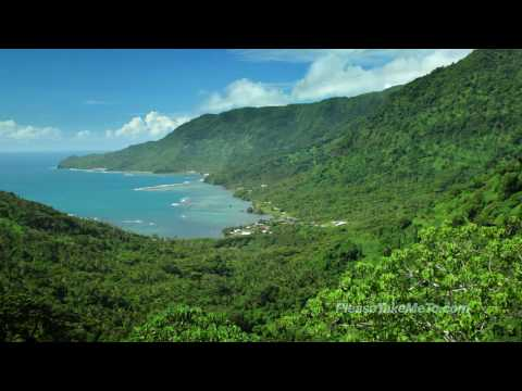 Fagaloa Bay, Samoa (1080HD) Travel Video