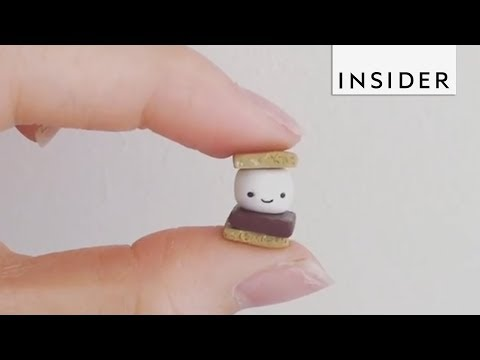 Artist Makes the Tiniest Creations