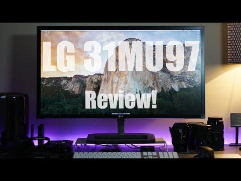 LG (31MU97) 4K Monitor - Review