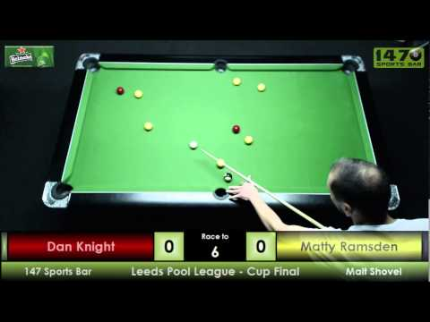 Leeds Pool League k/o Final 147 Sports Bar V Malt Shovel