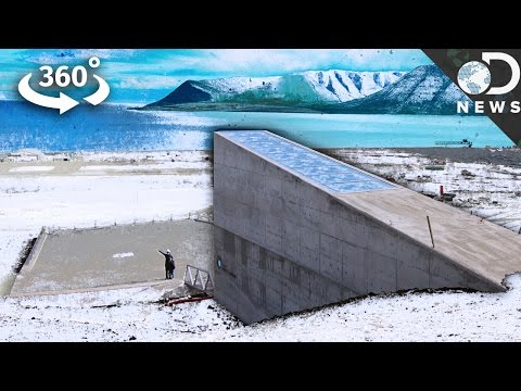 "Go Inside The ""Doomsday"" Seed Vault For The First Time"