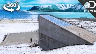 """Go Inside The """"Doomsday"""" Seed Vault For The First Time"""