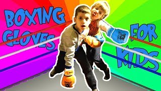BOXING GLOVES FOR KIDS! Unboxing and review!