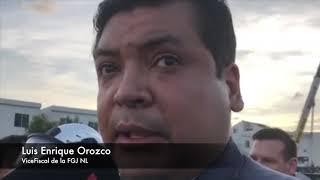 derrumbe de construcción en Monterrey