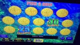 High Limit Lucky Fountain $25 Bet