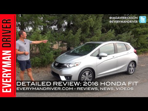 Here's the 2016 Honda FIT on Everyman Driver