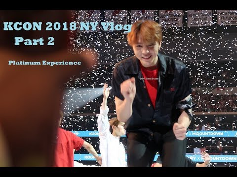 KCON 2018 NY Vlog Day 2: Meeting Wanna One