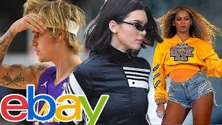 eBay Selling Justin Bieber's, Kendall Jenner's & Beyonce's SWEATY Clothing!