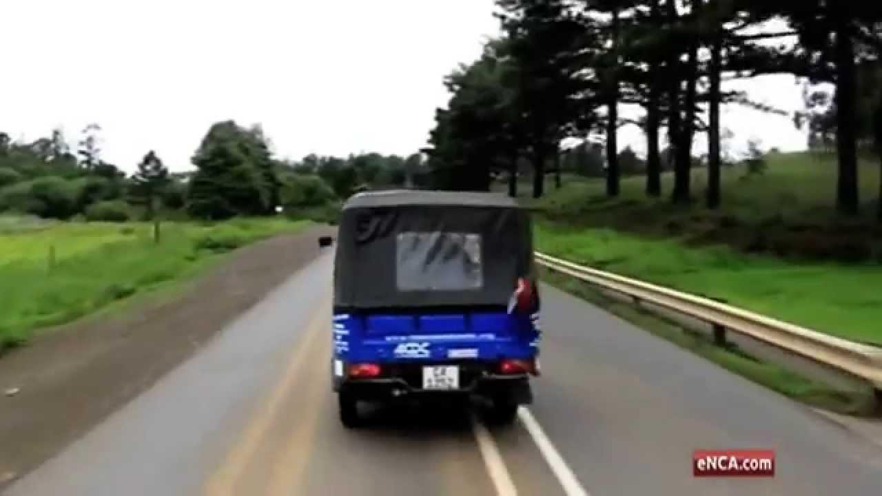Matrics take tuk tuk road trip for charity