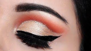 ऑय शैडो कैसे लगाएं How To Do 3 Step Easy CUT CREASE Eyeshadow Tutorial in Hindi