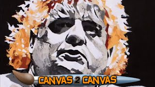 A tribute to Dusty Rhodes: WWE Canvas 2 Canvas