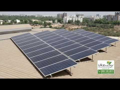 200 KW Commercial Solar Project at AmulFed Dairy - U R Energy