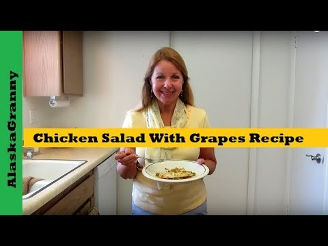 Chicken Salad With Grapes Recipe Easy Summer Salad