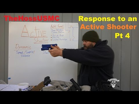 Response to an Active Shooter Pt4: Engaging the Shooter