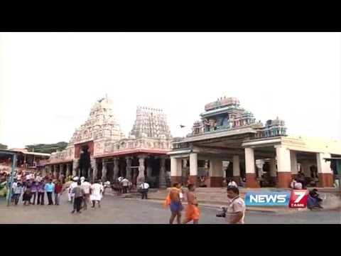 Nadai opening time changed at Thiruchendur Murugan Temple   News7 Tamil