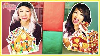 Twin Telepathy Challenge Christmas Gingerbread House!