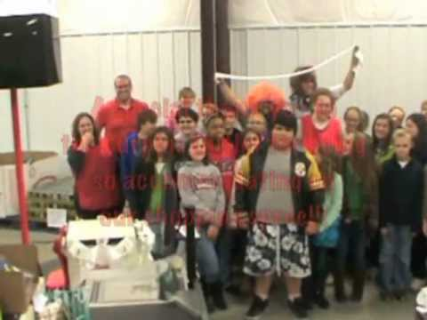 Central Columbia Middle School Food Drive 2012