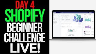 (Day 4) SHOPIFY BEGINNER CHALLENGE: MAKING AN AD LIVE, FACEBOOK AD AND INFLUENCER MARKETING