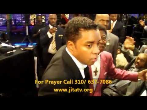 JITA Is Behind The Scenes on TBN. Clarence McClendon, Earthquake Kelley and Bishop David Horn