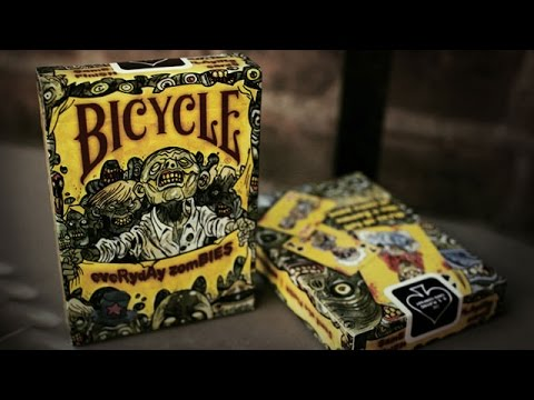 Обзор колоды Bicycle Everyday Zombie // Deck Review (ОБУЧЕНИЕ ФОКУСАМ)