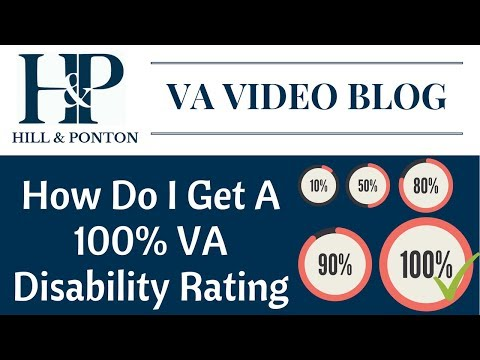 How Do I Get A 100 Percent VA Disability Rating - YouTube