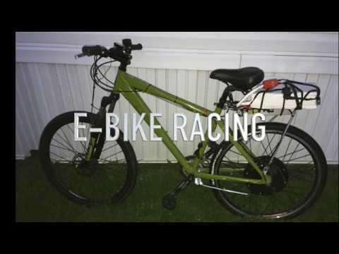 E-Bike on the track