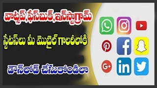 HOW TO DOWNLOAD WHATSAPP FACEBOOK ,INSTAGRAM STATUS IN  GALLERY l TECHNOLOGY UPDATES l NET INDIA
