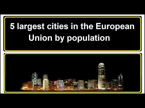 5 largest cities in the European Union by population