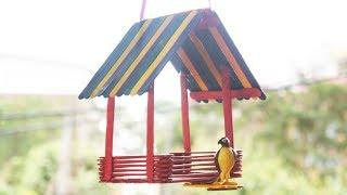 كيفية جعل من السهل DIY بيت الطيور TCraft